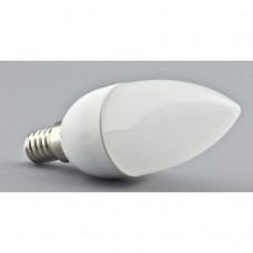 E14 LED Candle Bulb 3.5W in Cool White 6000K
