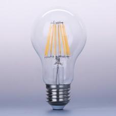 8W LED Filament bulb E27 Retro Style Classic Glass Warm White 2700K (dimmable)