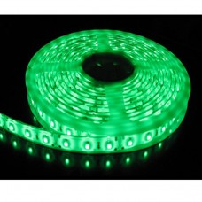5M Single Colour Flexible LED 3528 SMD  Lights IP21 in GREEN