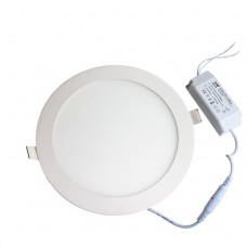 18W Round Recessed Ultra-slim Ceiling Light in Cool White