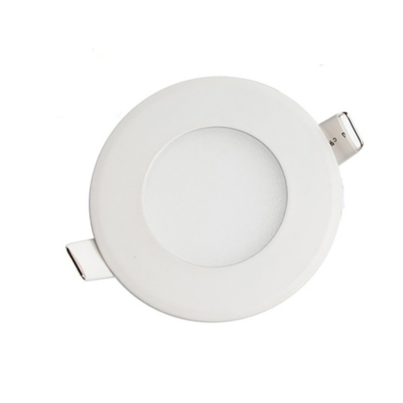 3W Round Recessed Ultra-slim Ceiling Light in Cool White