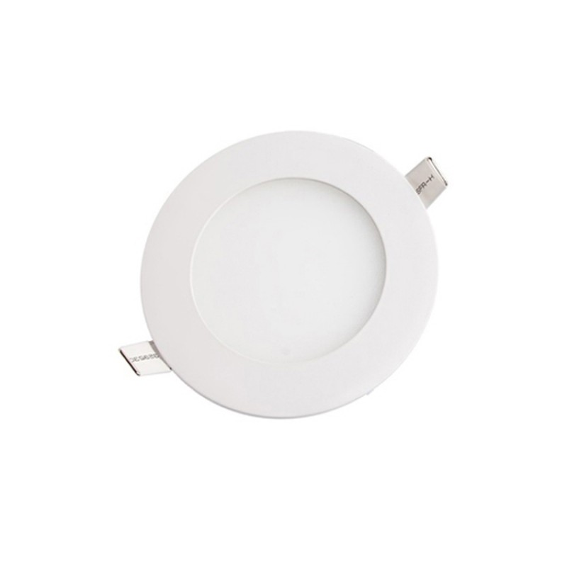 6W Round Recessed Ultra-slim Ceiling Light in Cool White